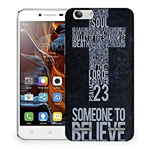 Snoogg Christian Wallpapers Designer Protective Phone Back Case Cover For Lenovo K5 Vibe