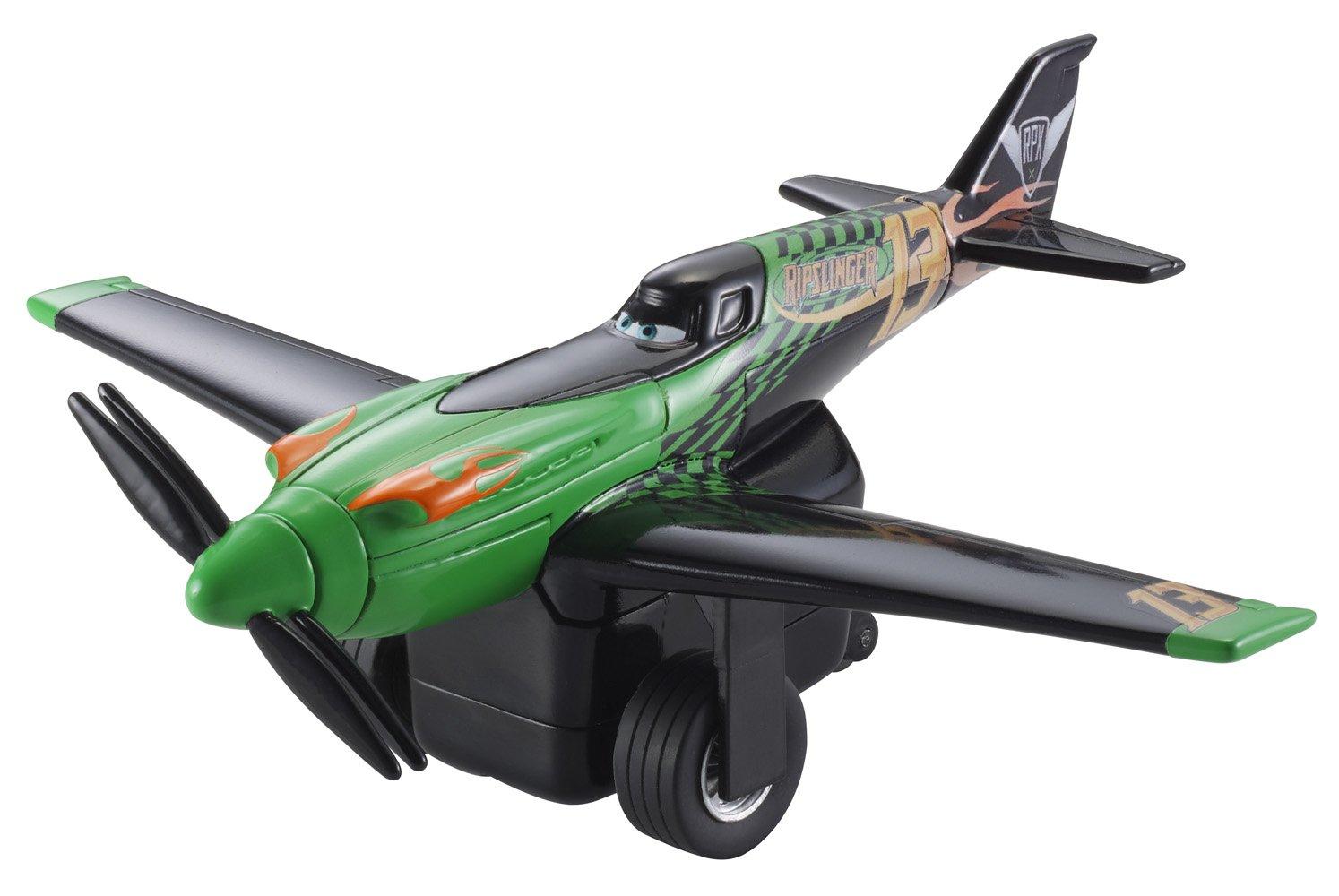 Disney Planes Pull & Fly Buddies Ripslinger