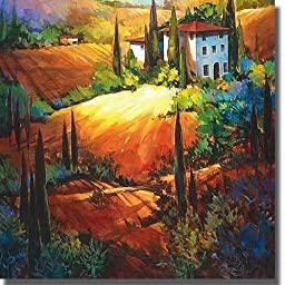 Morning Light Tuscany by O\'Toole Premium Gallery-Wrapped Canvas Giclee Art (Ready-to-Hang)