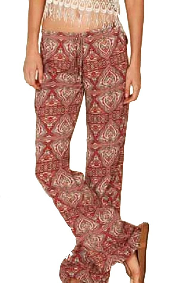 Lucy Love Women's Peachskin Print Palazzo Pants