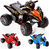 Charles Jacobs Kids RIDE ON QUAD, Raptor Style, 12V Battery Powered Toy with 2 YEAR MOTOR 5 STAR WARRANTY!