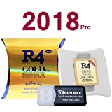 2018 Version SDHC Dual-Core Memory Adapter Card for DS 3DS 2DS Ndsi Ndsl Nds (Gold Pro) (Color: gold)