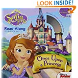 Sofia the First Read-Along Storybook and CD Once Upon a Princess