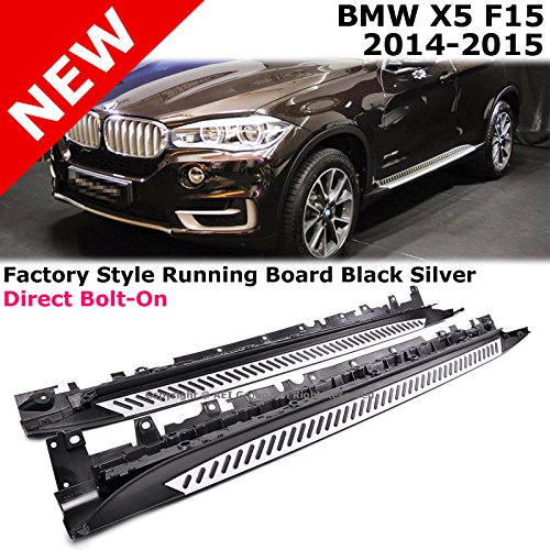 2008 And X5 And Bmw And Nerf And Running Board: Bmw X5 Aluminium Side Steps