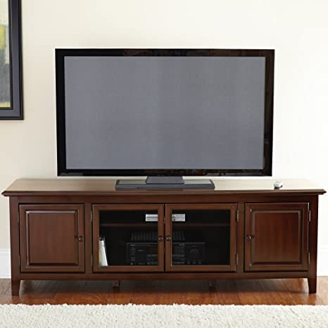 TV Cabinet in Ebony Finish