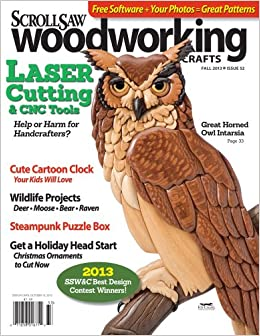 Scroll Saw Woodworking  Crafts Issue 52