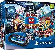 Comprar PlayStation Vita - Consola + Megapack Lego Heroes+ 8 GB Memory Card