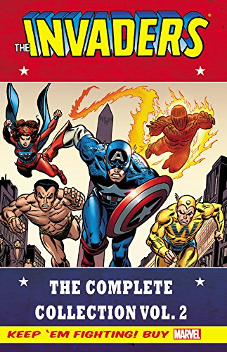 Invaders Classic: The Complete Collection Volume 2 (The Invaders Marvel compare prices)