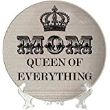 Gifts For Mom, Mom Queen Of Everything Decorative Plate - 6 Inches By TheYaYaCafe