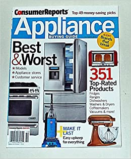 Consumer Reports Appliance Buying Guide (October 2013): Amanda Lecky ...