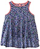 French Connection Girl's Confetti Grid Sleeveless Tank Top