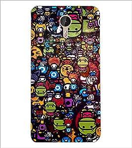 PrintDhaba Graffiti D-3846 Back Case Cover for LETV (LE ECO) LE 1 PRO (Multi-Coloured)