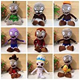 Luk Oil Plants vs Zombies 2 Style Combination of 15-23cm 9pc/lot Plush Toys Doll Kids Like It for Girls Boys 22-28 cm