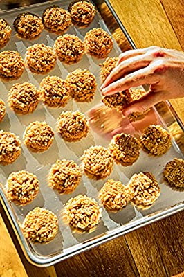 JELLY ROLL PAN - Cookie Baking Sheet For Best Cakes And Brownies - This Aluminum Dish Will NEVER RUST OR WARP Like Other Bakeware - Professional, Sturdy Quality Proves This Tray Is Built To Last!