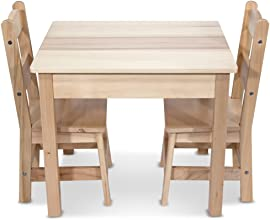 Melissa amp Doug Wooden Table and 2 Chairs Set