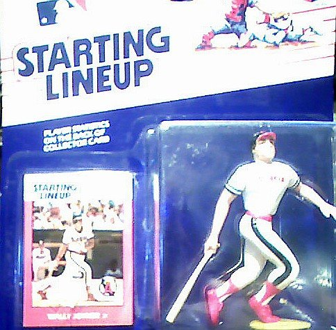 Wally Joyner Action Figure - California Angels Uniform - 1988 Major League Baseball Starting Lineup Series
