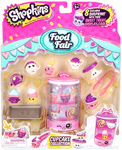 Shopkins Season 3 Food Themed Pack Cupcake Collection