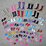 Toy - 12 Pairs Creative Combination BARBIE Doll SHOES