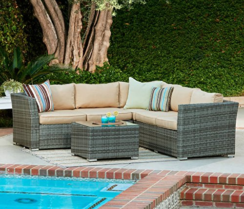 Miraculous Best Price For Vancouver Rattan Corner Sofa Patio Alphanode Cool Chair Designs And Ideas Alphanodeonline