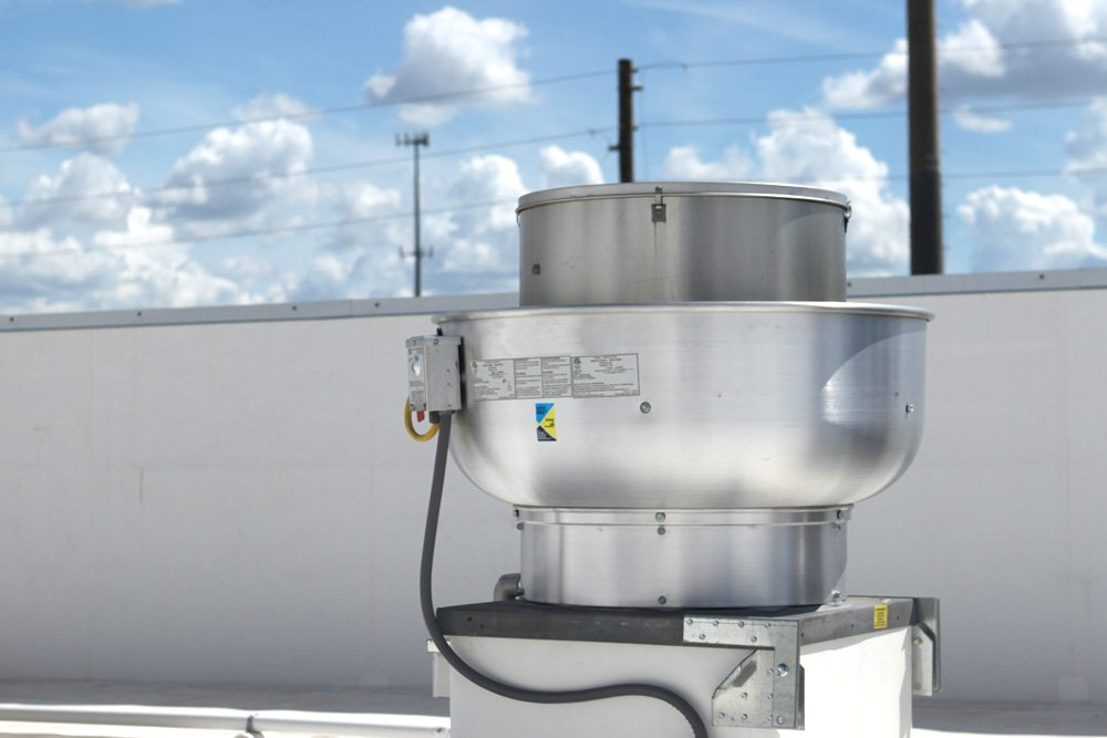 1000 CFM Restaurant Hood Exhaust Fan
