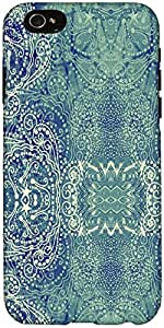 Snoogg Paisley Formation Case Cover For Apple Iphone 6