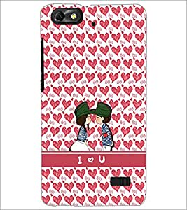 PrintDhaba Couple D-2203 Back Case Cover for HUAWEI HONOR 4C (Multi-Coloured)