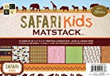 DCWV CP-012-00040 Safari Kids Mat Stack