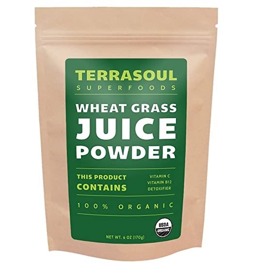 Terrasoul Superfoods Wheat Grass Juice Powder