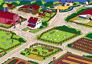 Farm Children Area Rug 39x58 from NAVITZ