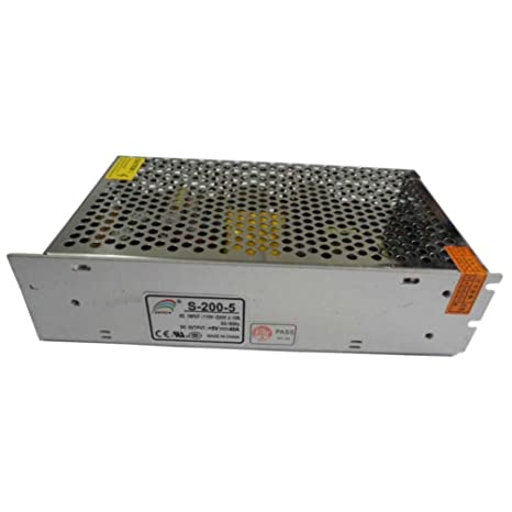 Smarstar AC110-220V à DC5V 40A 200W Conducteur d'alimentation électrique Driver pour CCTV LED Bande de lumière