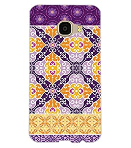 ColourCraft Tribal Pattern Design Back Case Cover for SAMSUNG GALAXY C5