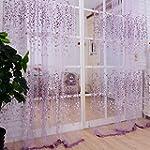 1M*2M Romantic Curtains Voile Tulle F...