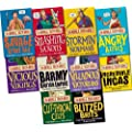 Horrible Histories 10 Books Set Pack (Collection) (Savage stone age, Cut-throat celts, Smashing Saxons, Incredible Incas, Stormin Normans, Angry Aztecs, Vicious Vikings, Villainous Victorians, Blitzed Brits, Barmy British Empire) (Horrible Histories)