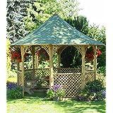 Chopin Gartenlaube. Gartenhaus aus Holz günstig kaufen. (h335x350cm)