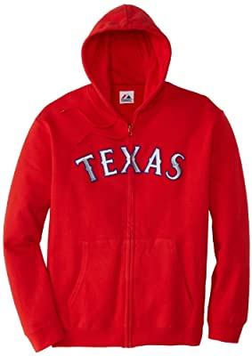MLB Texas Rangers Shut Out Fleece, Athletic Red