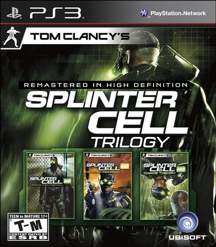 Tom Clancy'S Splinter Cell Classic Trilogy Hd - Playstation 3 front-959264