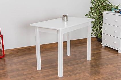 Tisch 60x100 cm, Farbe: Weiß