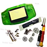 Galyme Gameboy GBA Advance Clear Green Replacement Housing Shell Case