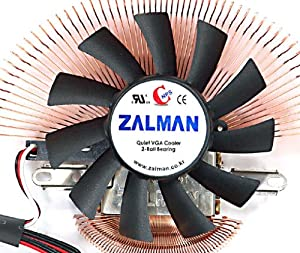 Zalman VF700-Cu Copper Ultra-Quiet VGA Video Card Cooler