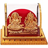 Gold Plated Lord Laxmi Ganesha Statue Hindu Goddess Laxmi And God Ganesh Handicraft Idol Diwali Decorative Spiritual...