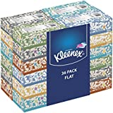 Kleenex Everyday Facial Tissues, Low Count Flat, 85 ct, (Pack of 36)