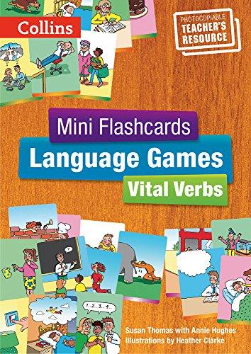 Vital Verbs - Teacher's Book (Mini Flashcards Language Games)