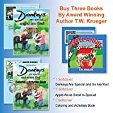 img - for 3 Books - Donkeys Are Special, Apple Annie & Companion Coloring Book book / textbook / text book