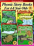 Picture Books For Children 05 (4 ebooks in 1) (Phonic Ebooks (Story Book Collections))