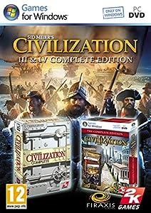 Civilization 3 & 4 Complete Edition Game PC