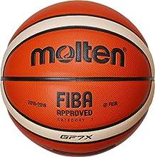 Molten-Balón de baloncesto, color naranja/ivory, 7, bgf7X de DBB