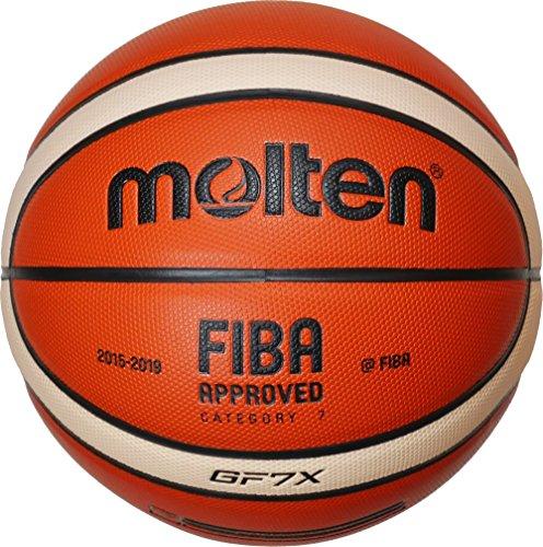 Molten Pallone Da Basket, Colore Arancione/Avorio, 7, Bgf7X - Dbb