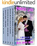 Mail Order Bride: Pioneer Love 5 Book Box Set: Damaged Hearts Head West: Clean Western Historical Romance five Book Bundle: Includes Christmas Miracle