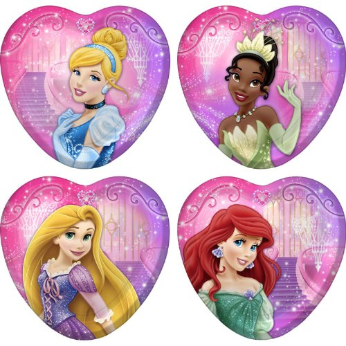 Disney Very Important Princess Dream Party Dessert Plates 8 Ct - 1