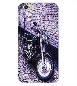 PrintDhaba Bike D-2839 Back Case Cover for APPLE IPHONE 6S (Multi-Coloured)